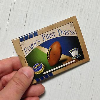 Football Card Game - Famous First Downs