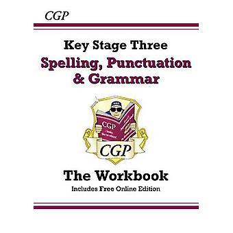 Oikeinkirjoitus - välimerkkejä ja kielioppia KS3 - työkirja (jossa Onlin