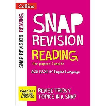 Lectura (documentos 1 y 2): AQA GCSE inglés (Collins Snap revisión)