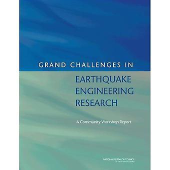 Wielkim wyzwaniom w zakresie badań inżynierii trzęsienia ziemi