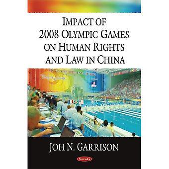 Auswirkungen der Olympischen Spiele 2008 auf Menschenrechte und Völkerrecht in China