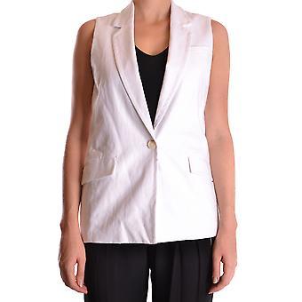 Michael Kors Ezbc063022 Uomini's White Linen Vest