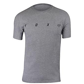 Fox Racing Mens Agent Airline SS T-Shirt - Heather Graphite