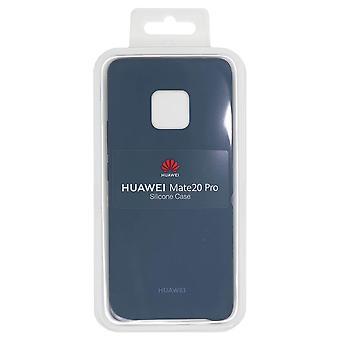 רשמי Huawei Mate 20 Pro - מארז מגן סיליקון - כחול בהיר - 51992684