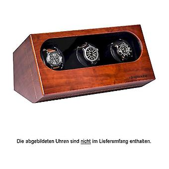 Augusta Uhrenbeweger for three watches Bubinga wood colors 5569.341