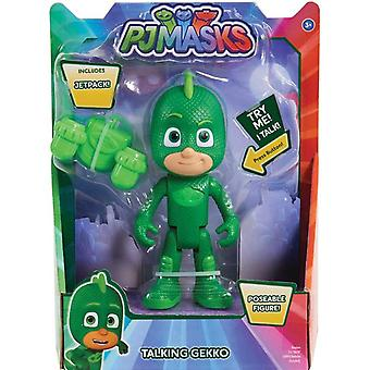 The pyjama heroes Deluxe talking figure, Gecko