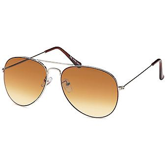 Bling metall sol glasögon-PILOTEN