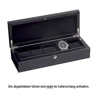 Beco Watch Box Piano Silk 5 Black 70002-39