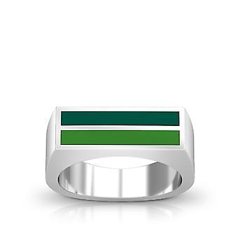 Stetson University Ring In Sterling Silver Design by BIXLER