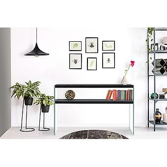 Console Table Tv Table Shelf TV Table Wood Glass