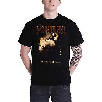 Pantera T Shirt mens far beyond 20 years Original album Cover new Official Black