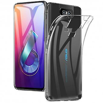Siliconen shell transparant ASUS Zenfone 6 (ZS630KL)