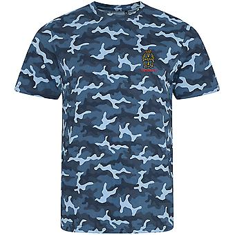Queens Alexandra Royal Army Nursing Corps - Vétéran - Licence British Army Embroidered Camouflage Print T-Shirt