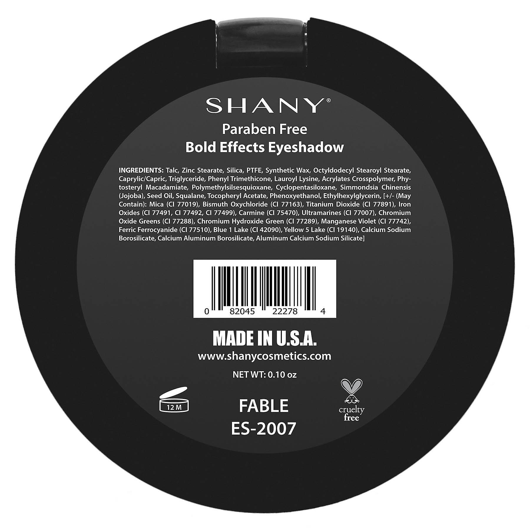 SHANY Bold Effect Eye Shadow - Paraben Free - Made in U.S.A