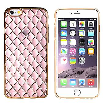iPhone 6 Plus og 6S Plus Case Gold Pink - CoolSkin Diamond