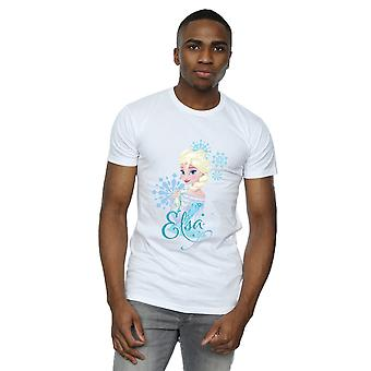 Disney Men's Frozen Elsa Snowflakes T-Shirt