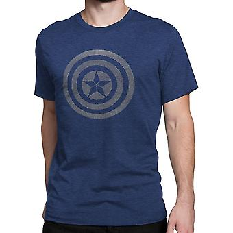 Captain America Civil War 3D Gradient Shield T-Shirt