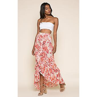 Late Bloom Ruffle rok