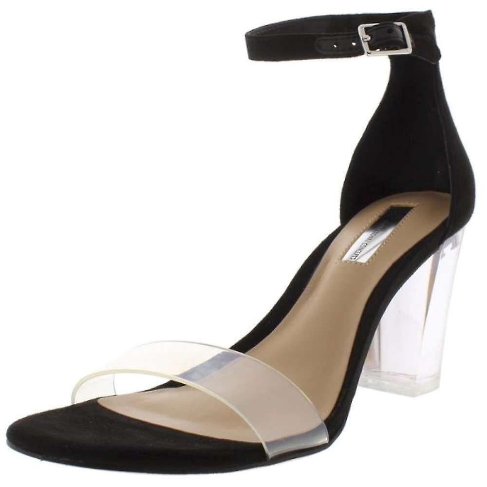 ØKES internasjonale konsepter Kivah kvinner åpen tå syntetiske hæler