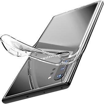 Shell Samsung Note 10 +, translucent rubber