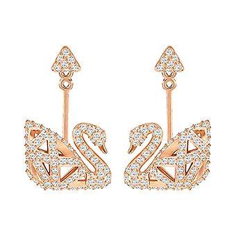 Boucles d'oreilles Swarovski Gold-plated Women's Stud - 5358058