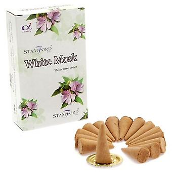 White Musk Incense Cones Stamford 15s