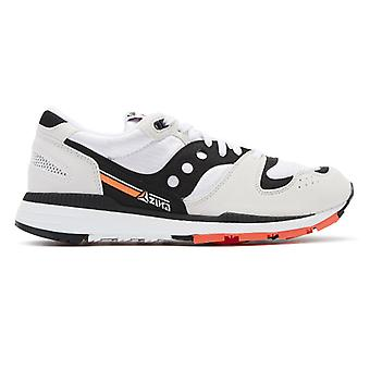 Saucony Azura Mens White / Black Trainers