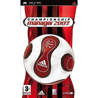 Championship Manager 2007 (PSP) - New