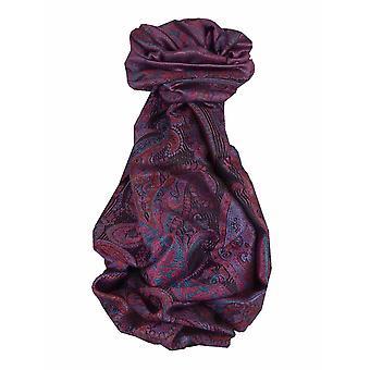 メンズ ジャマワル プレミアム シルク スカーフ パターン 7549 パシュミナ & シルク