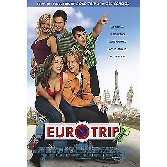 Euro Trip (Double Sided Regular) (2004) Original Kino Poster