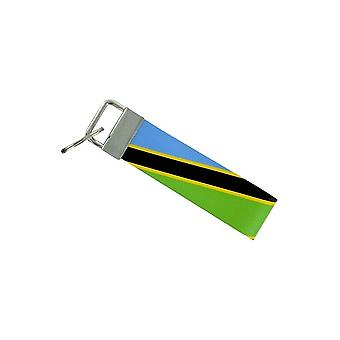 Door Cles Keys Car Motorcycle Band Fabric Flag House Tuning Tanzania