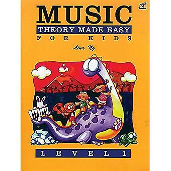 Musikteori gjort enkelt för barn, nivå 1 (Made Easy