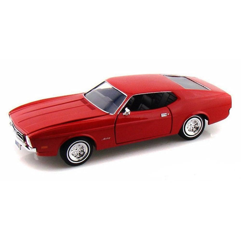 MotorMax American Classics - 1971 Ford Mustang Sportsroof - Red  1:24