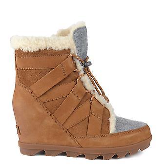 Sorel Joan Of Arctic Camel Brown Wedge Ii Cozy Boot