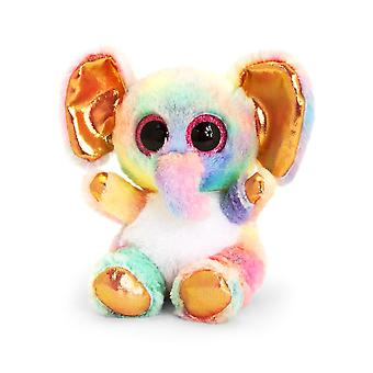 Animotsu Rainbow Elephant Soft Toy