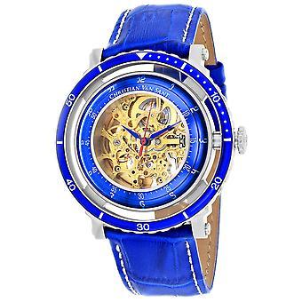 Christian Van Sant Men-apos;s Dome Gold Dial Watch - CV0740
