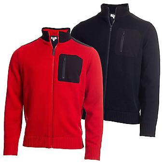 Calvin Klein Golf Herren Navigation gefüttert Half Zip Pullover
