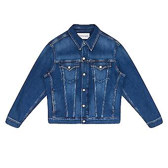 Veste Calvin Klein Jeans Foundation Slim Denim Jacket Bleu