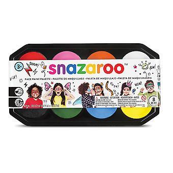 Bristol Novelty Snazaroo Face Paint Palette