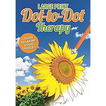 Large Print Dot to Dot Therapy by Adam Linley