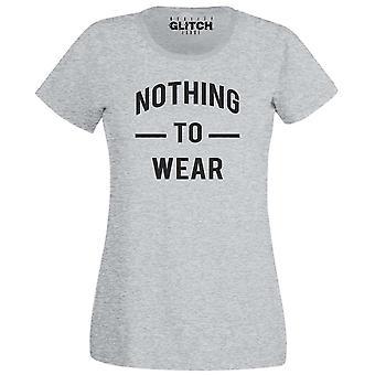 Inget att bära Womens t-shirt
