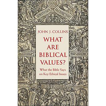 What Are Biblical Values by John J Collins