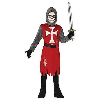 Jongens duisternis ridder Halloween fancy dress kostuum