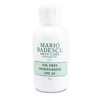 Mario Badescu Oil Free Moisturizer Spf 30 - For Combination/ Oily/ Sensitive Skin Types - 59ml/2oz