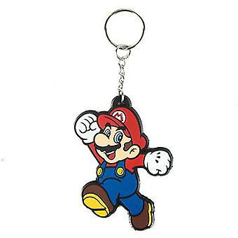 NINTENDO SUPER MARIO BROS Mario Rubber Keychain (KE141768NTN)