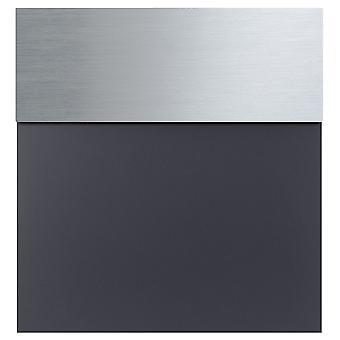 MOCAVI Box 580 Design Letterbox Aço Inoxidável / Cinza Antracito (RAL 7016)