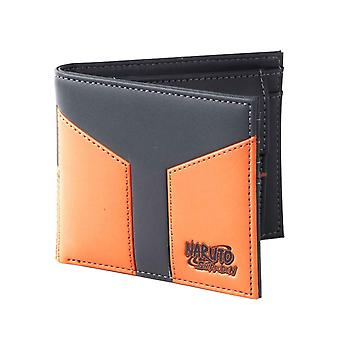 Naruto Shippuden Wallet Novelty Logo new Official Anime Black Bifold