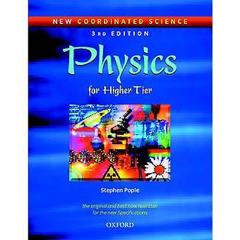 Neue koordinierte Wissenschaft Physik Studenten Buch für höhere Stufe von Stephen Pople
