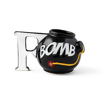 Bigmouth f-bomb kaffemugg