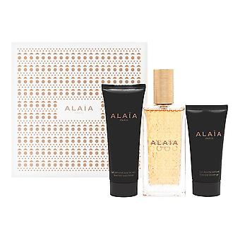 Alaia blanche by alaia paris for women 3 piece set includes: 3.3 oz eau de parfum spray ' 2.5 oz body lotion ' 1.6 oz gel douche